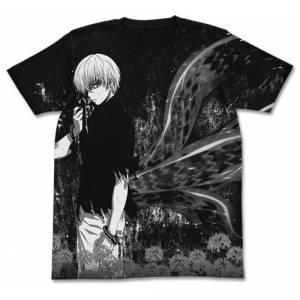 Tokyo Ghoul - Ken Kaneki All Print T-shirt / BLACK - XL [Goods]