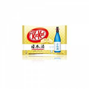 KIT KAT - Sake (1 Bag, 12 Mini Bars) [Food & Snacks]
