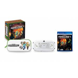 PlayStation Vita Glacier White Minecraft Special Edition Limited Bundle (MC1) [new]