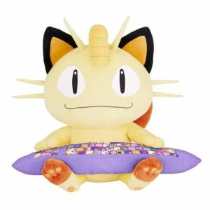 Pokemon Sun & Moon - Meowth / Miaouss PC Cushion - Bandai Premium Limited Edition [Plush Toys]