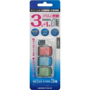 Card Case (Media Case 3V) for PlayStation Vita - Clear ver. [Gametech]