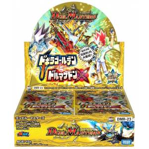 Duel Masters TCG - Kakumei Final Expansion Pack Final Chapter Dogira Golden VS Dorumagedon X 30 Pack BOX [Trading Cards]