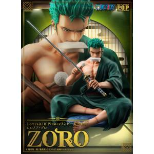ONE PIECE - Roronoa Zoro Limited Edition [Portrait.Of.Pirates SOC]