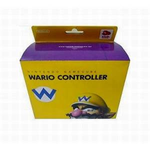 Game Cube Controller - Wario [NGC - used good condition]