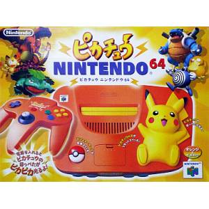 Nintendo 64 Pikachu - Orange [Used Good Condition]