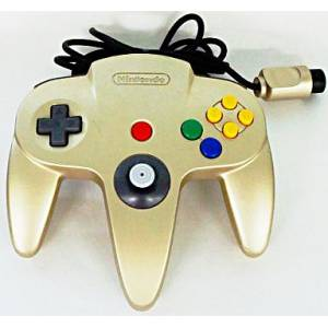 Controller N64 Gold (officiel Nintendo) [occasion BE / loose]