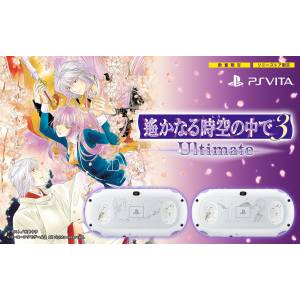 PlayStation Vita Glacier White - Harukanaru Toki no Naka de 3 Ultimate Limited Edition [new]