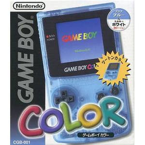 Game Boy Color Aqua Blue & Milky White Edition Limitée [GBC - occasion BE]