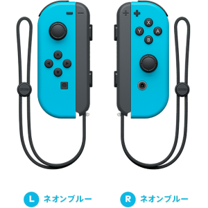 Nintendo Switch Joy-Con (L) / (R) Neon Blue Limited Set [Switch]