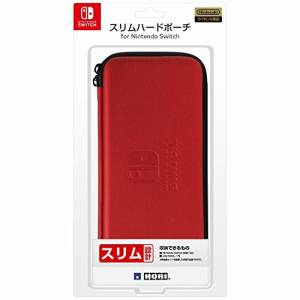 Slim Hard Pouch Red ver. for Nintendo Switch [Hori]