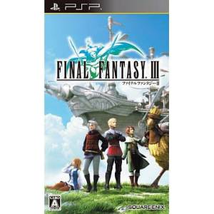 Final Fantasy III [PSP - Used Good Condition]