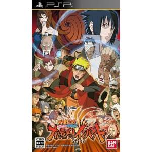 Naruto Shippuden Narutimate Impact [PSP - Used Good Condition]