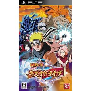 Naruto Shippuden Kizuna Drive [PSP - Used Good Condition]