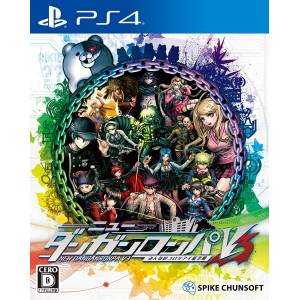 New Danganronpa V3: Everyone's New Semester of Killing - Standard Edition [PS4-used]