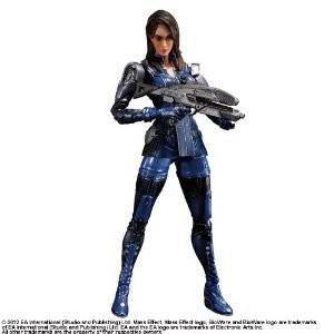 Mass Effect 3 - Ashley Williams [Play Arts Kai]