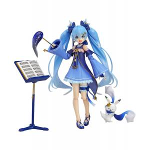 Character Vocal Series 01 - Snow Miku: Twinkle Snow Ver. Wonder Festival 2017 Winter Limited edition [Figma EX-037]