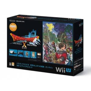 Wii U Black Dragon Quest X Premium Set [Used]