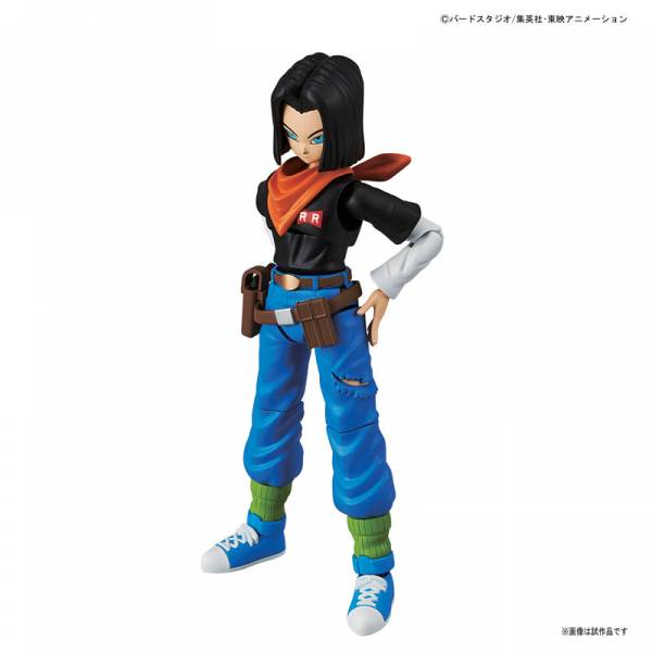DRAGON BALL Z - ANDROID 17 / C17 [FIGURE-RISE STANDARD]