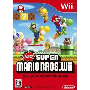 New Super Mario Bros Wii [Wii - Used Good Condition]