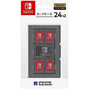 Card Case 24 + 2 for Nintendo Switch - Grey [Hori]