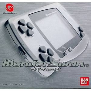 WonderSwan Silver Metallic Complete in box [Used Good Condition]