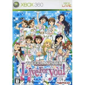 The Idolm@ster - Live for You! [X360 - occasion BE]