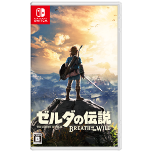 The Legend of Zelda - Breath of the Wild - Standard Edition (multi-language) [Switch-Used]
