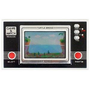 Turtle Bridge - Wide Screen TL-28 - used / no box [Game & Watch]