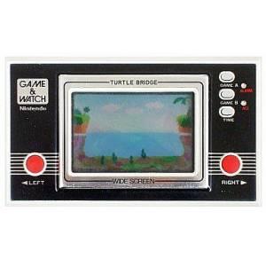 Turtle Bridge - Wide Screen TL-28 - used / no box [Game & Watch]