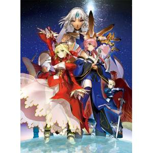 Fate/Extella: The Umbral Star- Ebten Canvas Art Limited Set (Multi Langage) [Switch]