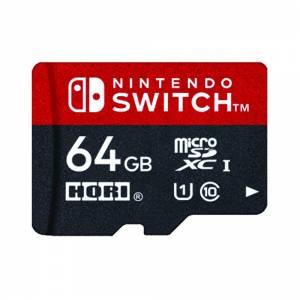Micro SD Card 64GB for Nintendo Switch [Hori]