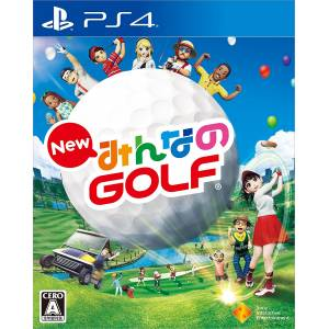 New Minna No Golf - Standard Edition [PS4]