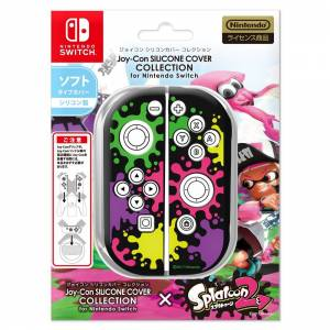 Joy-Con Silicone Cover for Nintendo Switch - Splatoon 2 Edition Type A [Switch]