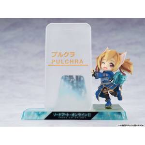 Smartphone Stand Bishoujo Character Collection No.09 Sword Art Online II - Silica [PULCHRA]