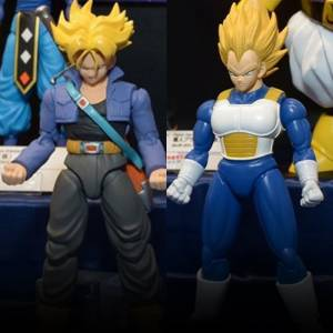 Dragon Ball Z - Super Saiyan Trunks & Super Saiyan Vegeta DX Set Plastic Model [Figure-rise Standard]
