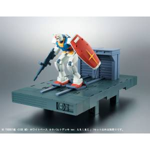Mobile Suit Gundam - White Base Catapult Deck ver. A.N.I.M.E. [Robot Spirits SIDE MS]