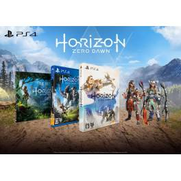 acheter horizon zero dawn first press limited edition occasion be ps4 import japon nin. Black Bedroom Furniture Sets. Home Design Ideas