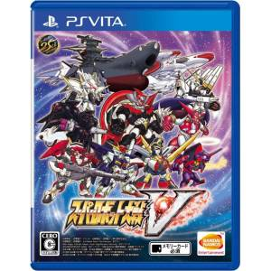 Super Robot Taisen V [PSVita - Used Good Condition]