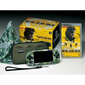 PSP-3000 Metal Gear Solid Peace Walker Premium Package [Used]