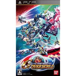 SD Gundam G Generation Overworld [PSP - Used Good Condition]
