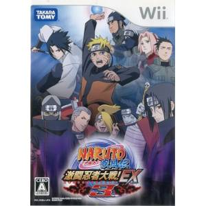 Naruto Shippuden - Gekitou Ninja Taisen! EX3 / Clash of Ninja Revolution 3 [Wii - Used Good Condition]