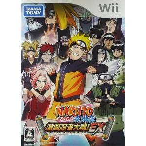 Naruto Shippuden - Gekitou Ninja Taisen! EX / Clash of Ninja Revolution [Wii - Used Good Condition]