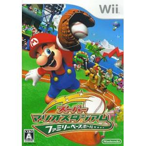 Super Mario Stadium - Family Baseball / Mario Super Sluggers [Wii - Used Good Condition]