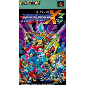 Rockman X3 / MegaMan X3 [SFC - Used Good Condition]