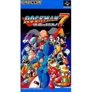 Rockman 7 / MegaMan 7 [SFC - Used Good Condition]