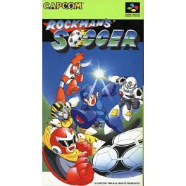 Rockman's Soccer / MegaMan's Soccer [SFC - Used Good Condition]