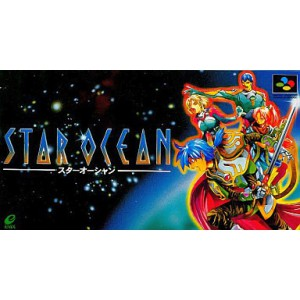 Star Ocean [SFC - Used Good Condition]