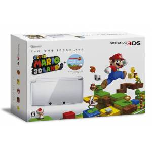 Nintendo 3DS - Super Mario 3D Land Pack - Ice White [Used]