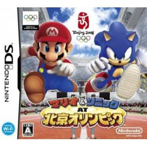 Mario & Sonic at Beijin Olympic / Mario & Sonic at the Olympic Games [NDS - Used Good Condition]