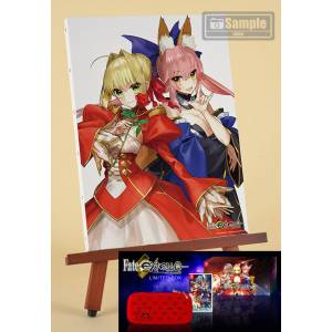 Fate/Extella: The Umbral Star- Ebten Canvas Art Limited Set (Multi Language) [Switch]